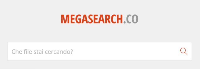 mega search ricerca