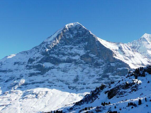 Vetta vicino alla Jungfrau